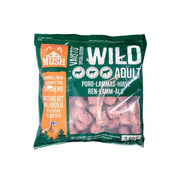 MUSH Wild Rénszarvas – Bárány – Jávorszarvas 3 kg