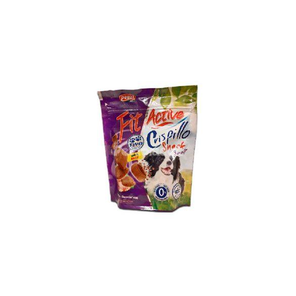 FitActive Crispillo Snack small (marha) - töltött párnácska kutyák részére (180g)
