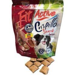 FitActive Snack Crispillo Large - jutalomfalat (marhás) kutyák részére (180g)