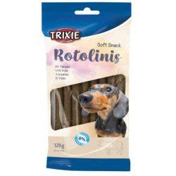Trixie Rotolinis -  Marhahúsos, ízletes jutalomrudacskák kutyáknak.  Kiszerelés: 12 db / 120 g