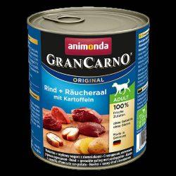 800g Animonda GranCarno Adult (füstölt angolna,burgonya) konzerv - Felnőtt kutyák részére