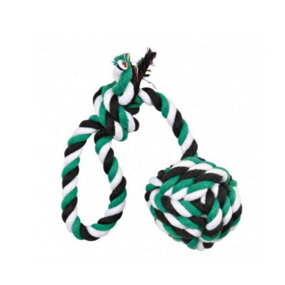 Trixie Denta Fun kötéljáték - csomó és hurok - 30 cm