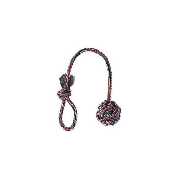 Trixie Denta Fun kötéljáték - csomó és hurok - 50 cm