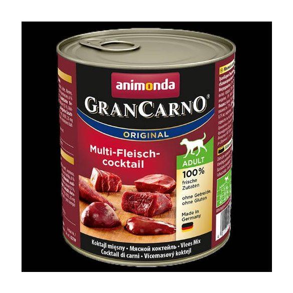 800g Animonda GranCarno Adult (multihús-koktél) konzerv - Felnőtt kutyák részére