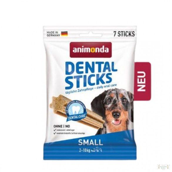 Animonda Dental Sticks (húsos) jutalomfalat 2-10kg-os kutyák részére 110g