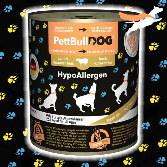 PettBullDog® HypoAllergen - Bárány barna rizzsel 800 g